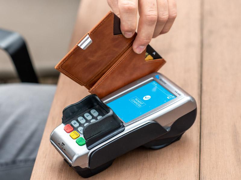 rfid skydd plånbok