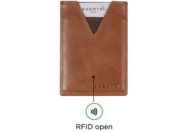 EXENTRI CITY RFID beskyttelse