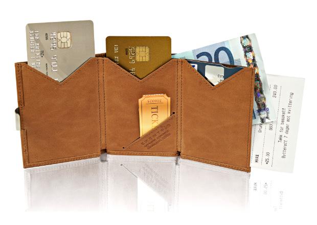 EXENTRI Wallets fleksibel oppbevaring