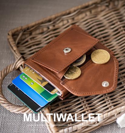 exentri multiwallet plånbok mynt