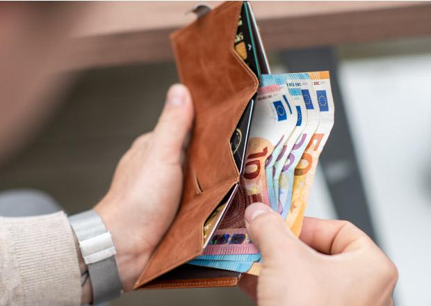 exentri exklusiv kvalitetsmaterial plånbok