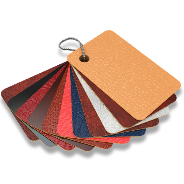 Quality cowhide leather in different colors and styles